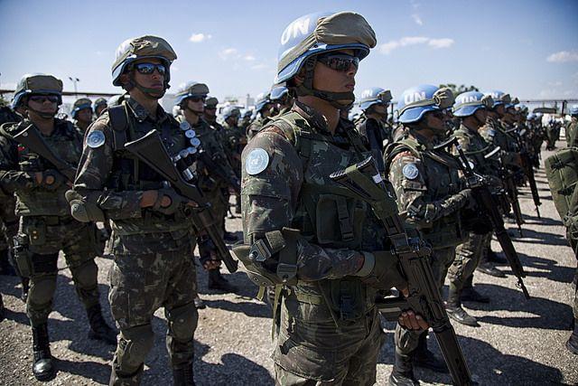 Tropas brasileiras em missão de paz deixarão o Haiti gradualmente até o dia 15 de outubro / Igor Rugwiza - UN/MINUSTAH