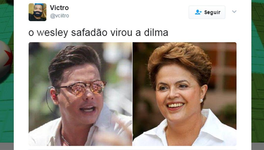 Novo visual de Wesley Safadão vira meme na web