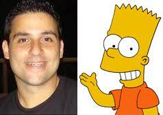 Peterson Adriano é dublador de Bart / Divulgação