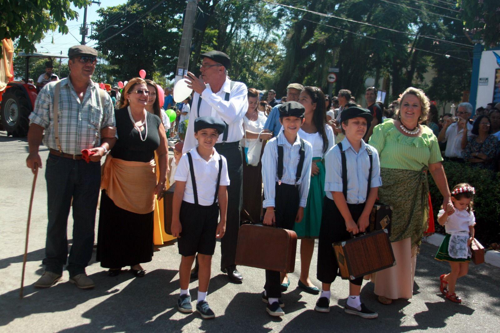 A 28ª Festa Italiana, que acontece de 26 de abril a 1º de maio nas ruas do Distrito. / Prefeitura de Taubat¿¿