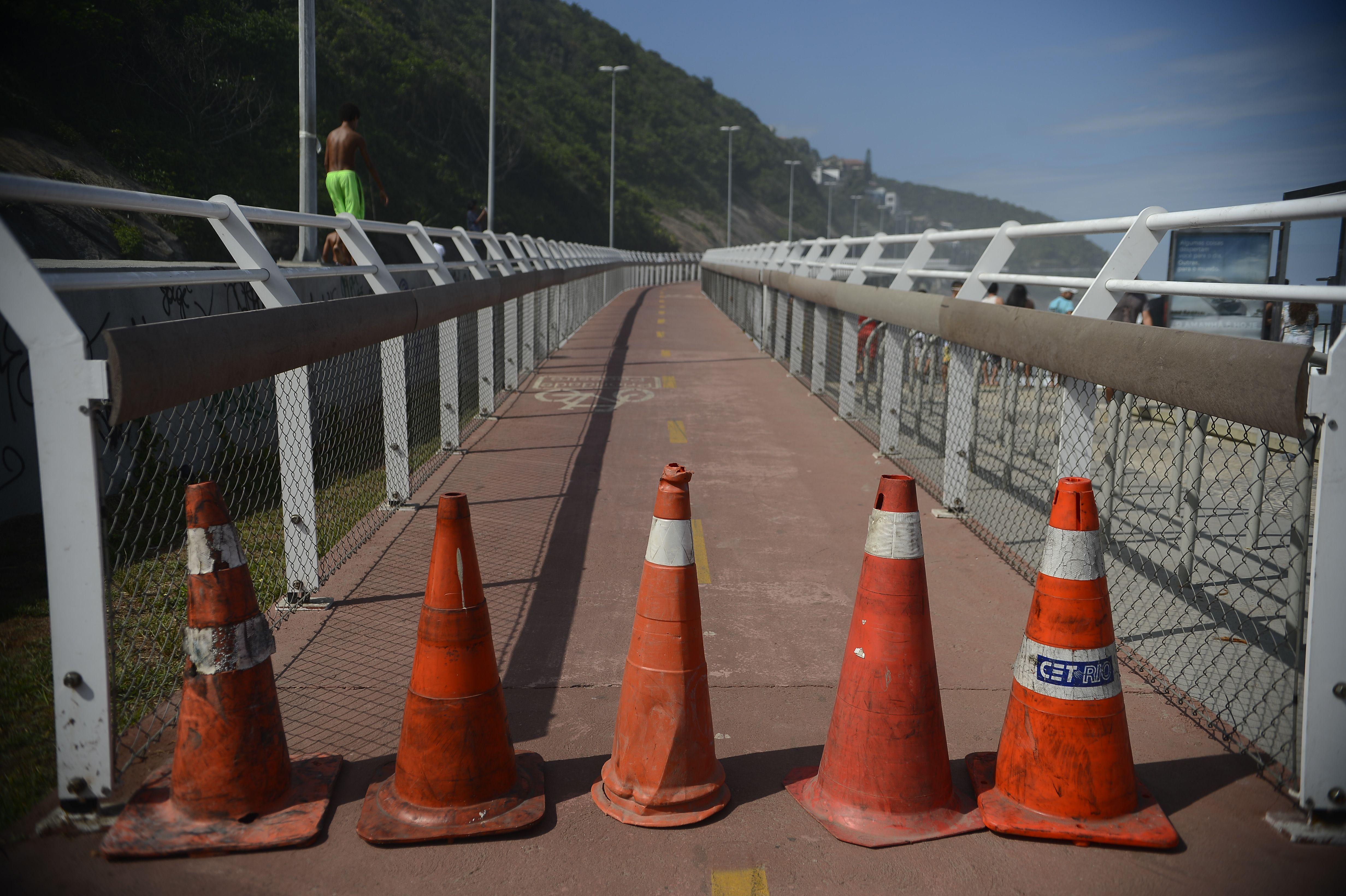Trecho segue fechado até perícia do CREA ou do COPPE. / Agência Brasil