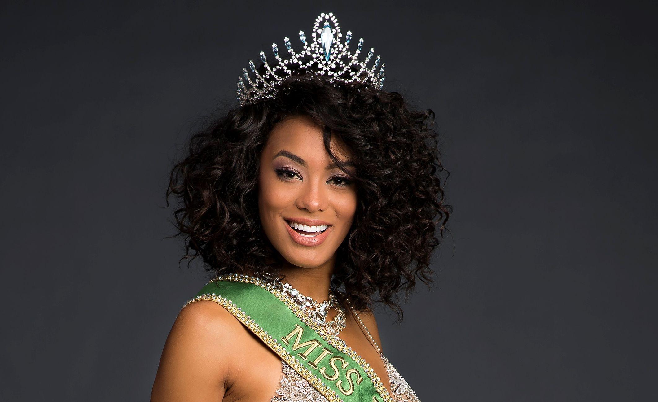 Rayssa é a atual Miss Brasil  / Divulgação - Band