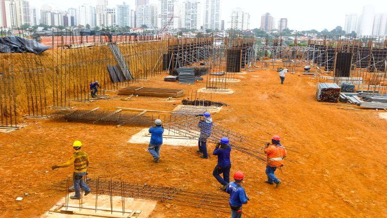 A Universidade Anhembi Morumbi iniciou a construção do campus neste ano em uma área de 5 mil metros quadrados na Avenida Benedito Matarazzo. / Claudio Vieira/ PMSJC