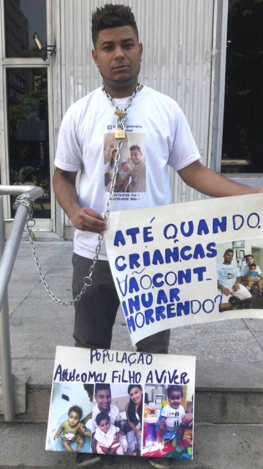 SP: pai faz greve de fome por transplante do filho