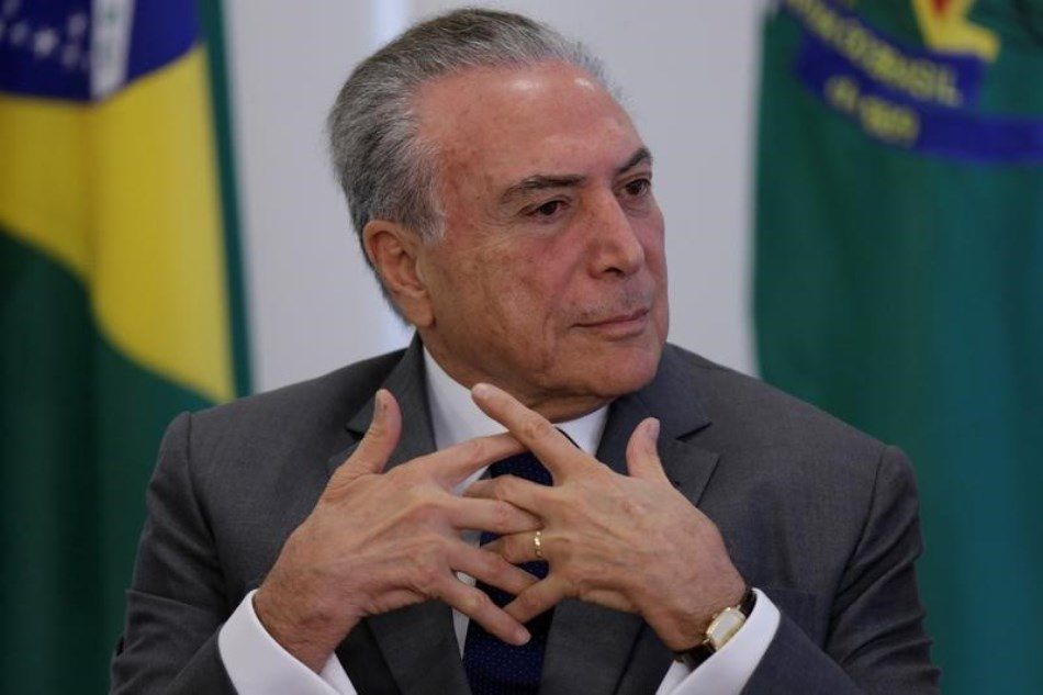 Presidente ficou pressionado após delação dos donos da JBS / Ueslei Marcelino/Reuters