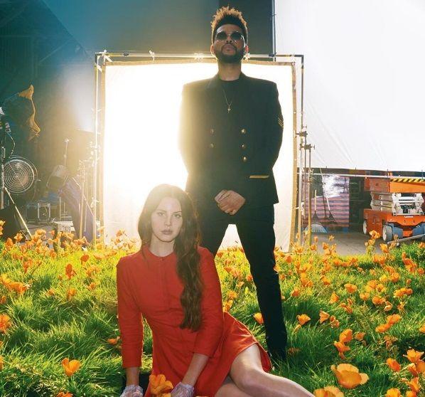 Lana Del Rey lança música em parceria com The Weeknd