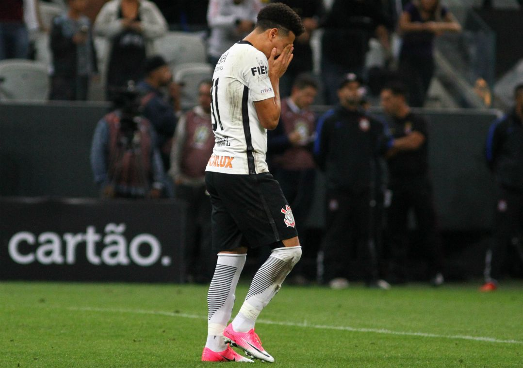 Corinthians perdeu para o Inter nos pênaltis / Ricardo Moreira/Estadão Conteúdo