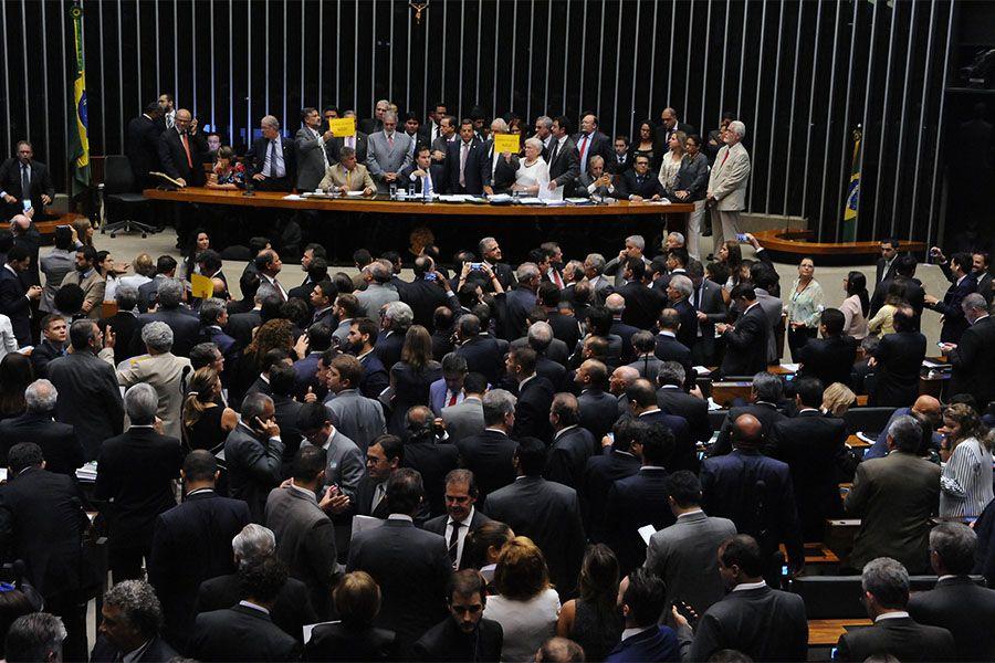 Foram 287 votos favoráveis ao regime de urgência / Billy Boss/Câmara Federal
