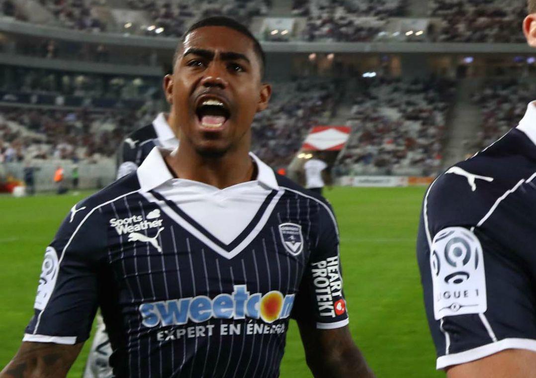 Malcom é titular do Bordeaux / Divulgação/Bordeaux