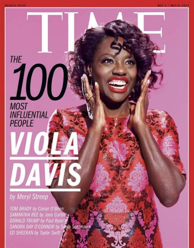 Viola Davis é eleita uma das 100 mais influentes do mundo