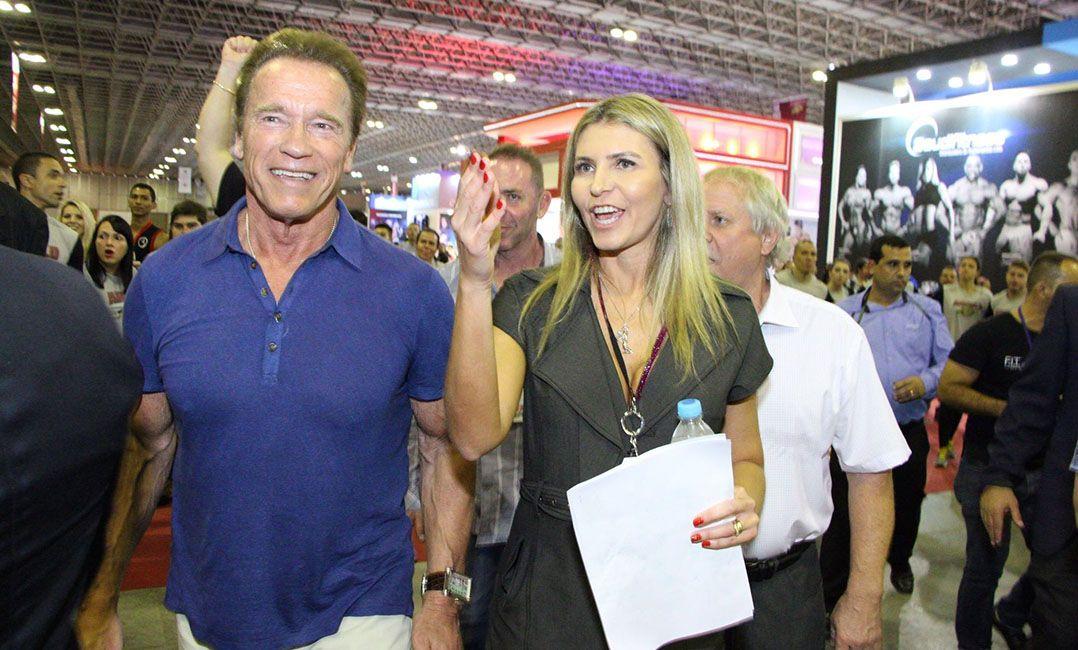 Aos 69 anos, Arnold Schwarzenegger continua como um dos grandes nomes do fisiculturismo; ele estará em São Paulo neste fim de semana / Divulgação/Savaget