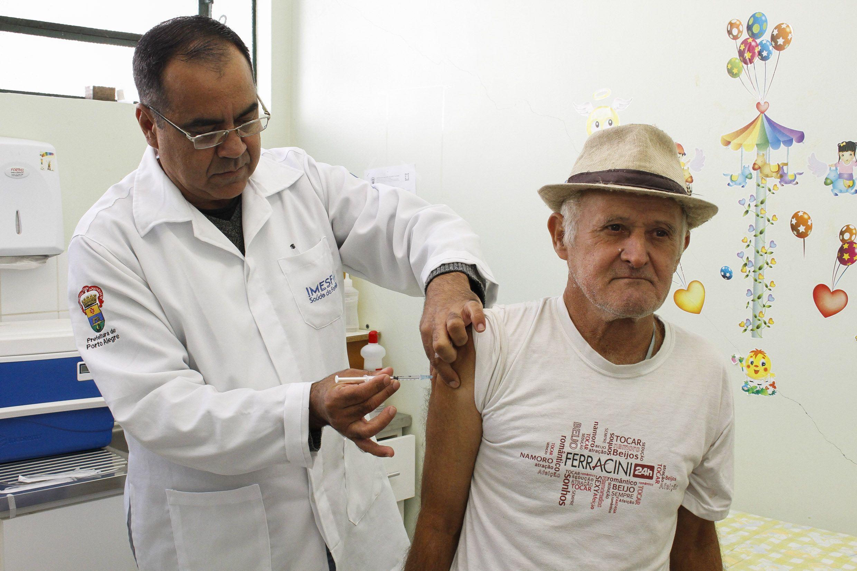 A campanha de vacinação deste ano segue até dia 26 de maio / Cristine Rochol/PMPA