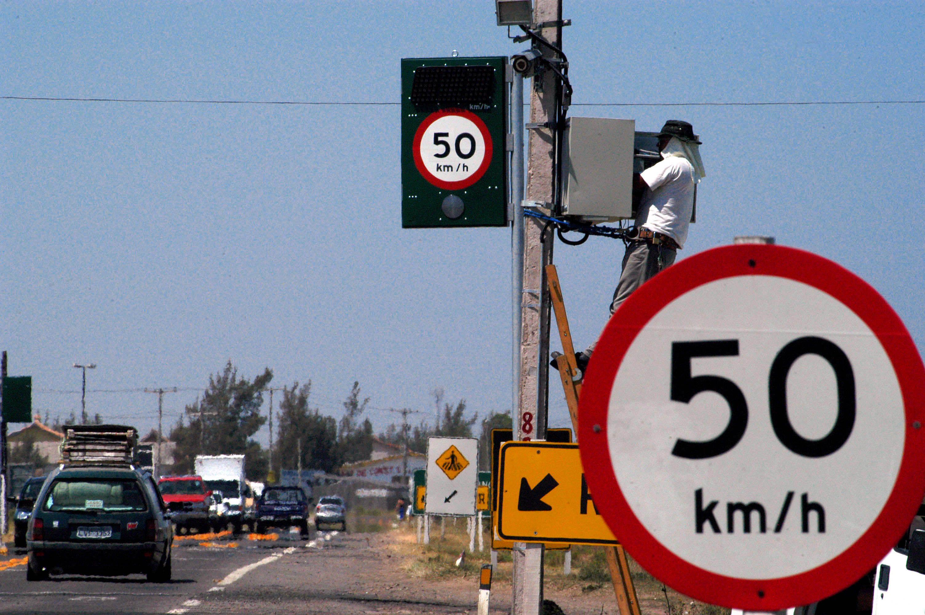 Pardais são mantidos a fim de evitar excesso de velocidade dos motoristas / Divulgação/Palácio Piratini