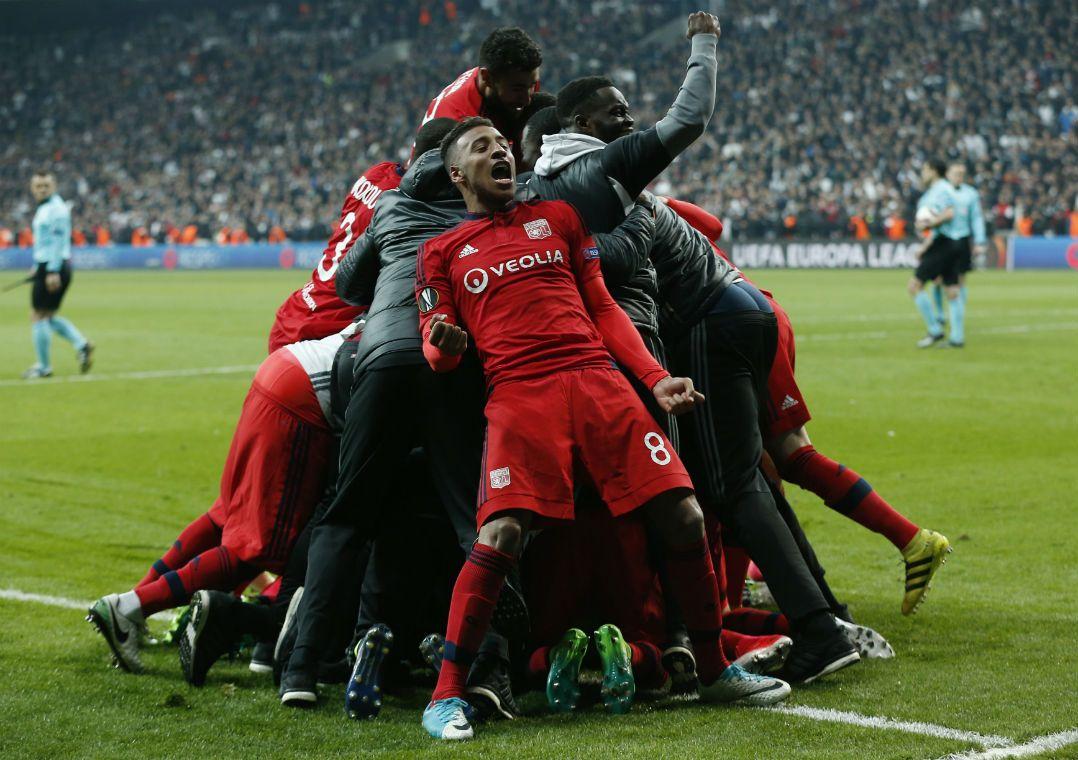 Lyon fez a festa na Turquia / Murad Sezer/Reuters