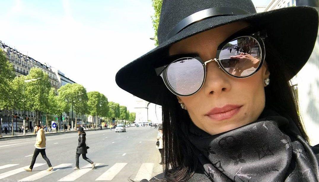 Ana Furtado está em Paris / Divulgação/Instagram