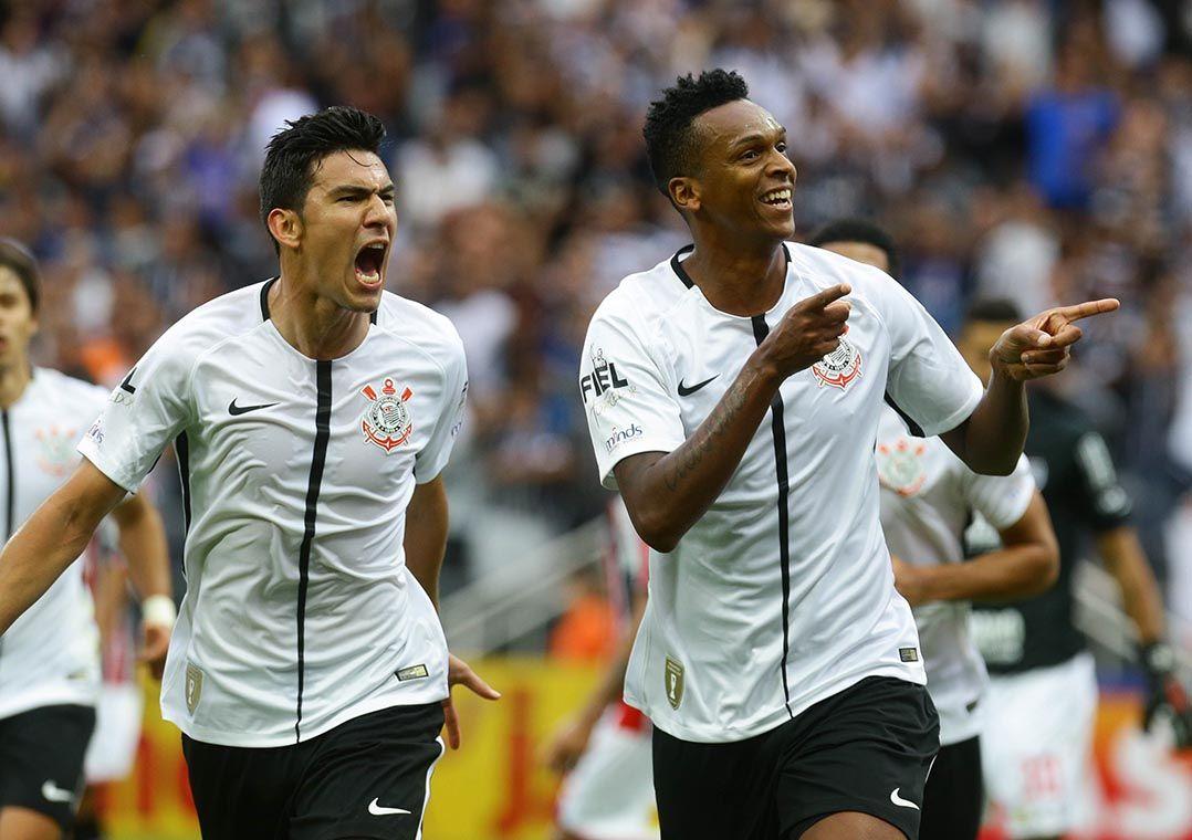 637cc681436 Clássico já teve três empates e uma vitória do Corinthians em 2017 (Foto   Gabriela Biló Estadão Conteúdo)