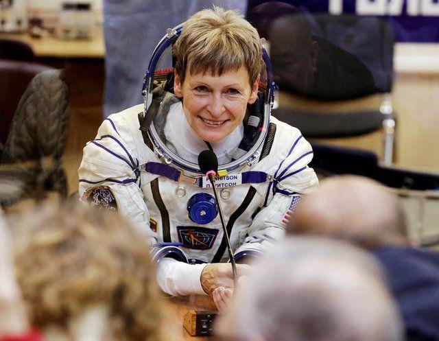 Norte-americana bate recorde de tempo no espaço