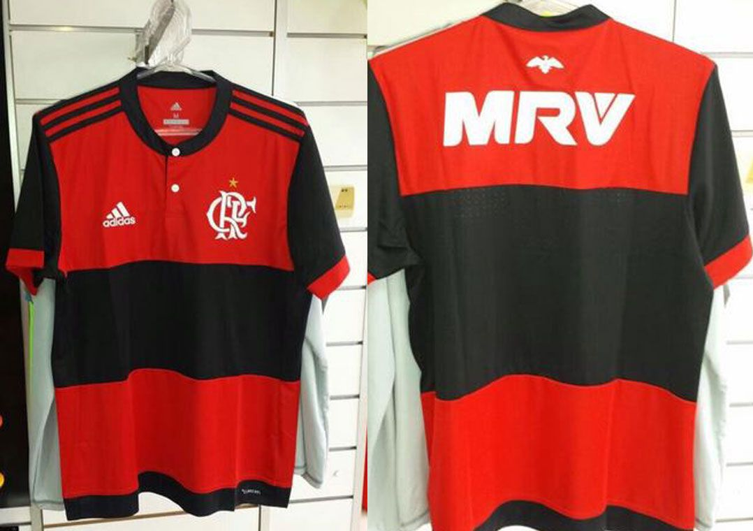 a14ea75d67 Imagens da nova camisa do Flamengo vazaram antes do lançamento oficial  (Foto  Reprodução Twitter)