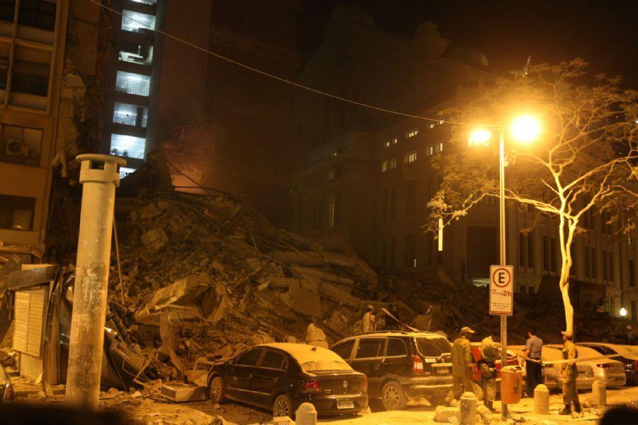 RJ: Justiça inocenta acusados por desabamento do edifício Liberdade