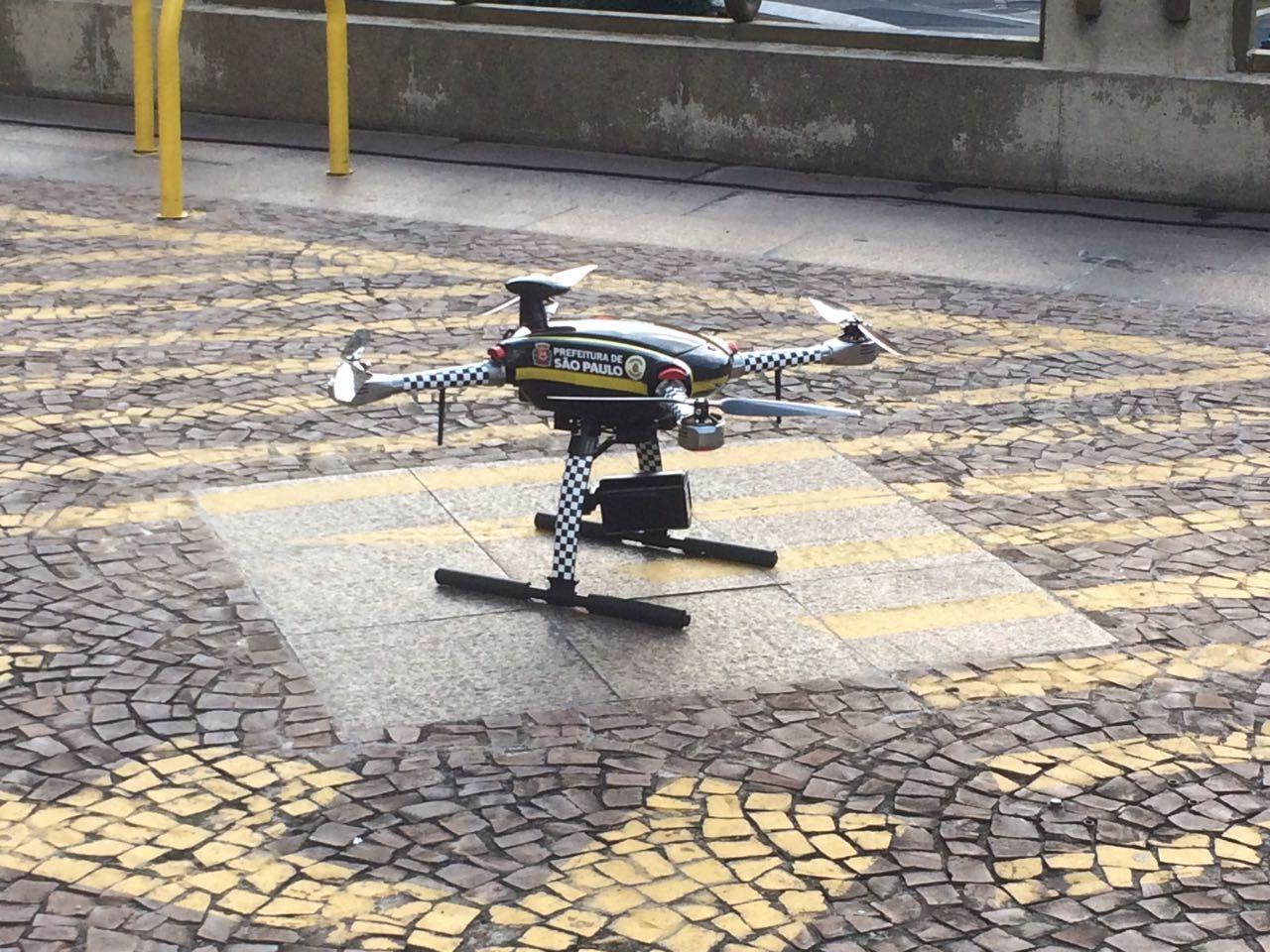 Guarda Metropolitana fará teste com drones em SP