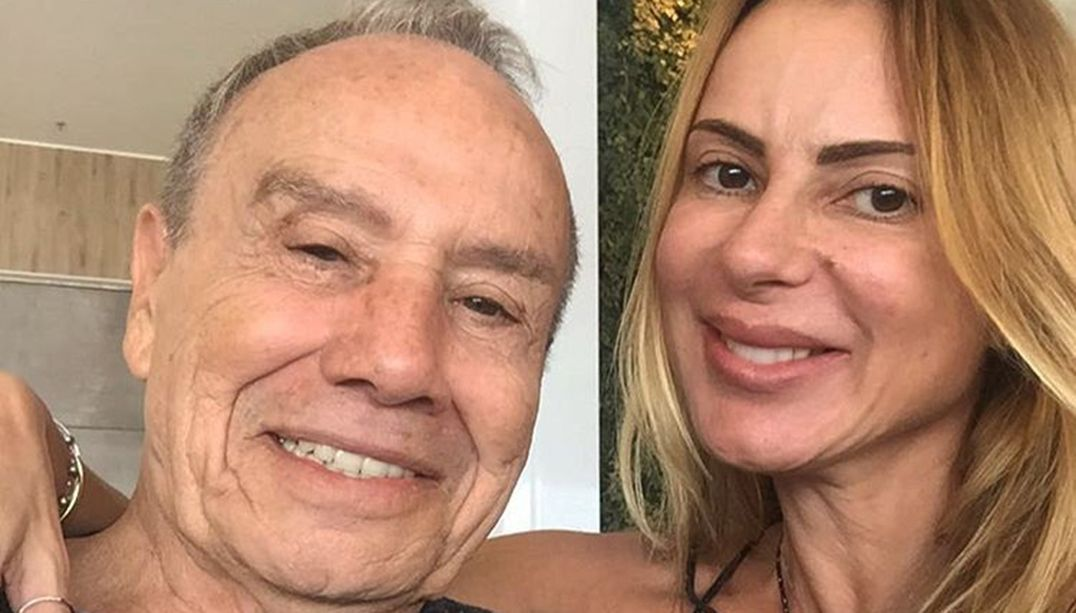 Mulher de Stênio Garcia recebe alta e se recupera em casa