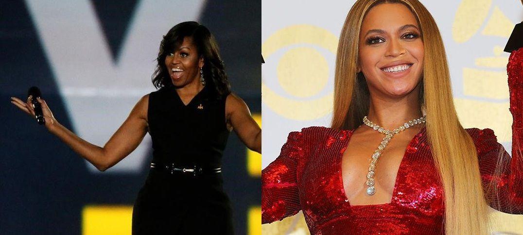 Michelle Obama parabeniza Beyoncé por programa social
