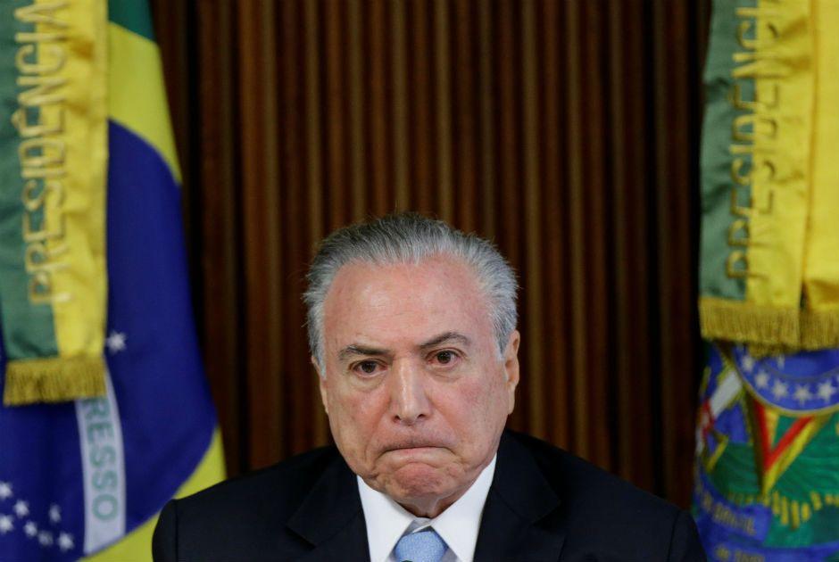 Apesar da delação, Temer garante que não vai renunciar / Ueslei Marcelino/Reuters