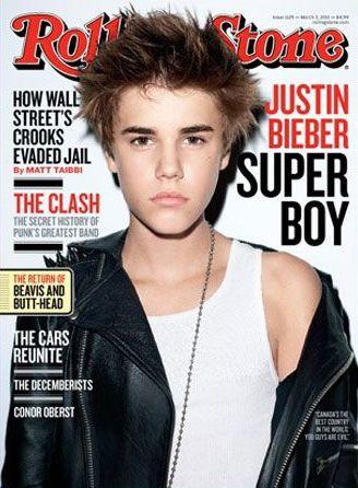 Justin Bieber na capa da