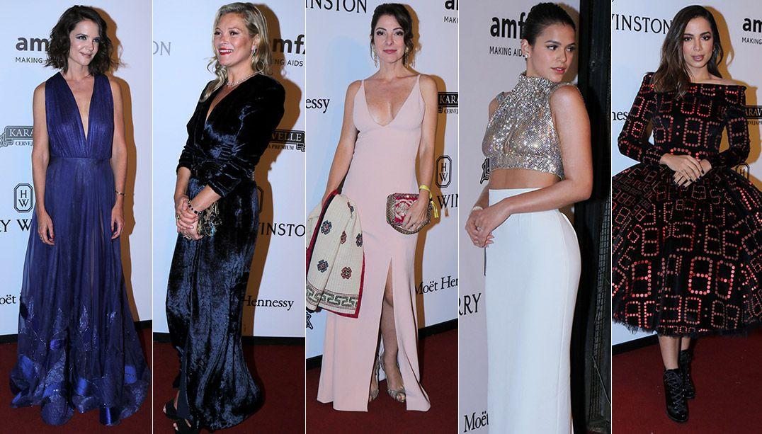 Baile beneficente reúne Katie Holmes, Kate Moss e outras celebridades