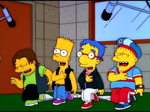 A carreira musical de Bart