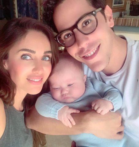 Christian Chávez se encanta pelo filho de Anahí