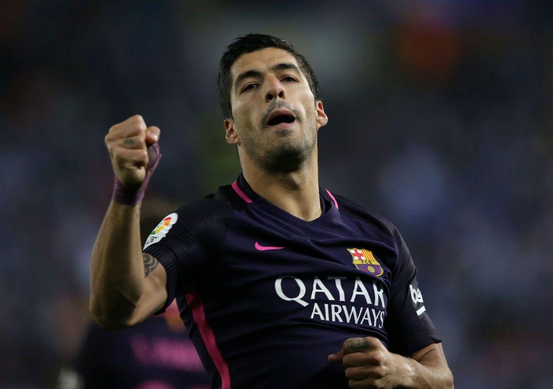 Suárez encerra jejum e Barcelona segue líder na Espanha
