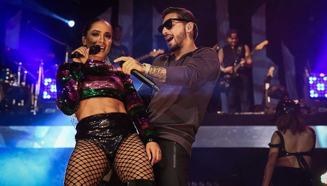 Maluma ficou conhecido no Brasil após gravar com Anitta / Raphael Castello/AgNews