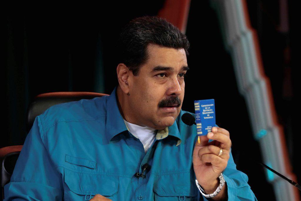 Maduro diz que magistrados nomeados pelo Parlamento serão presos