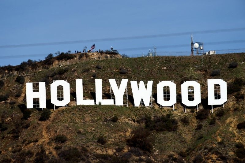 A placa Hollywood em Los Angeles, na Califórnia / Kevork Djansezian/Reuters