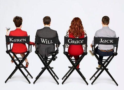 Personagens de Will & Grace aparecem em cartaz / Divulgação/Instagram
