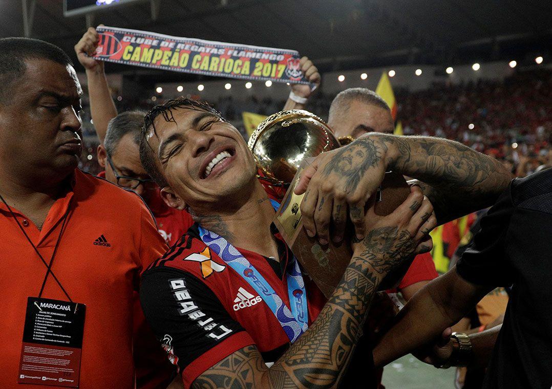 Guerrero marcou o gol de empate e se isolou na artilharia do Campeonato Carioca