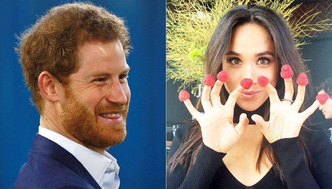 Príncipe Harry e Meghan Markle se beijam pela 1ª vez em público