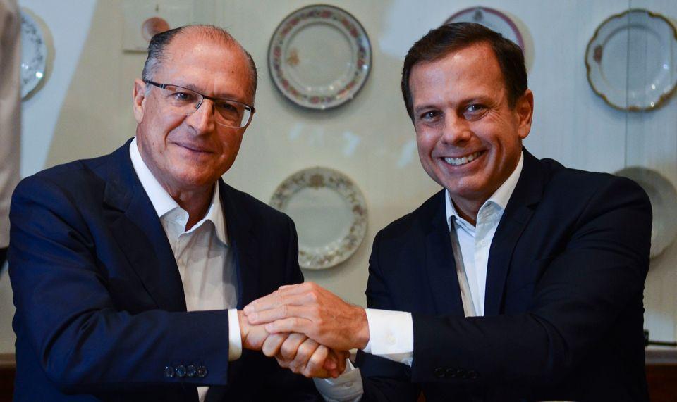 Vias Marginais estressam relação entre Alckmin e Doria