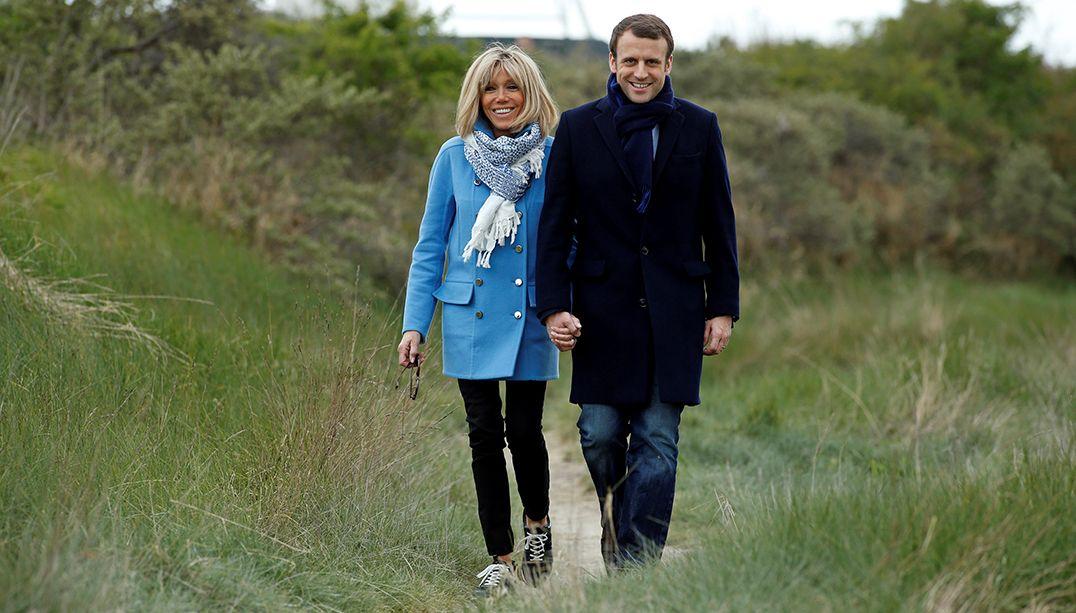 O improvável amor de Emmanuel Macron e Brigitte Trogneux
