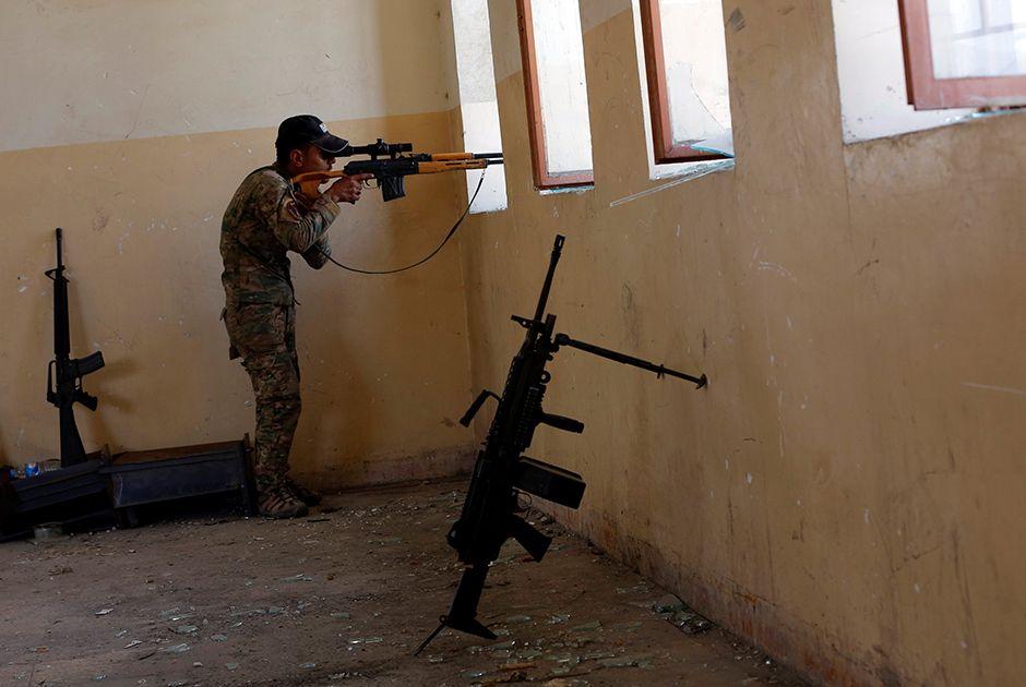 Líder militar do EI morre na cidade iraquiana de Mossul