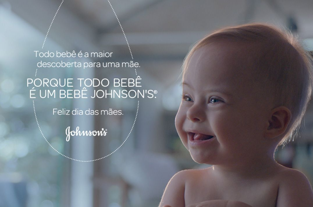 Bebê com Down faz propaganda da Johnson's viralizar