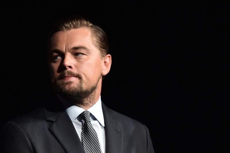 Leonardo DiCaprio em Paris  / Christophe Archambault/Reuters