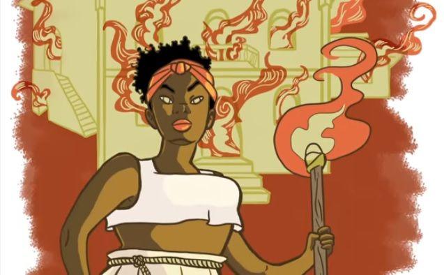 Jovens artistas recontam a história da escravidão e da abolição