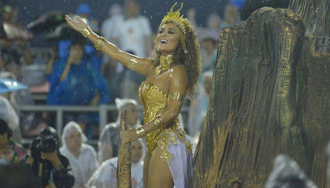 Juliana Paes acerta para ser rainha de bateria da Grande Rio