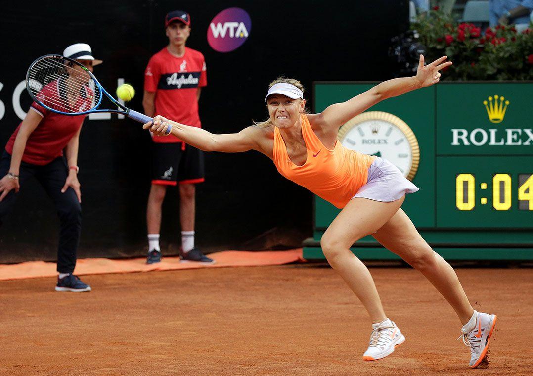 Com lesão no braço, Sharapova desiste de disputar o Torneio de Miami