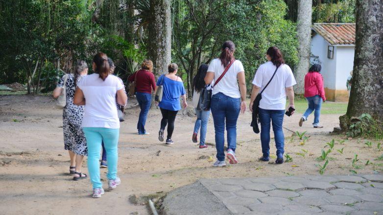 Além de conhecer ervas, temperos e verduras, o grupo aprendeu técnicas para produzir e cultivar alimentos saudáveis / Prefeitura de São José dos Campos