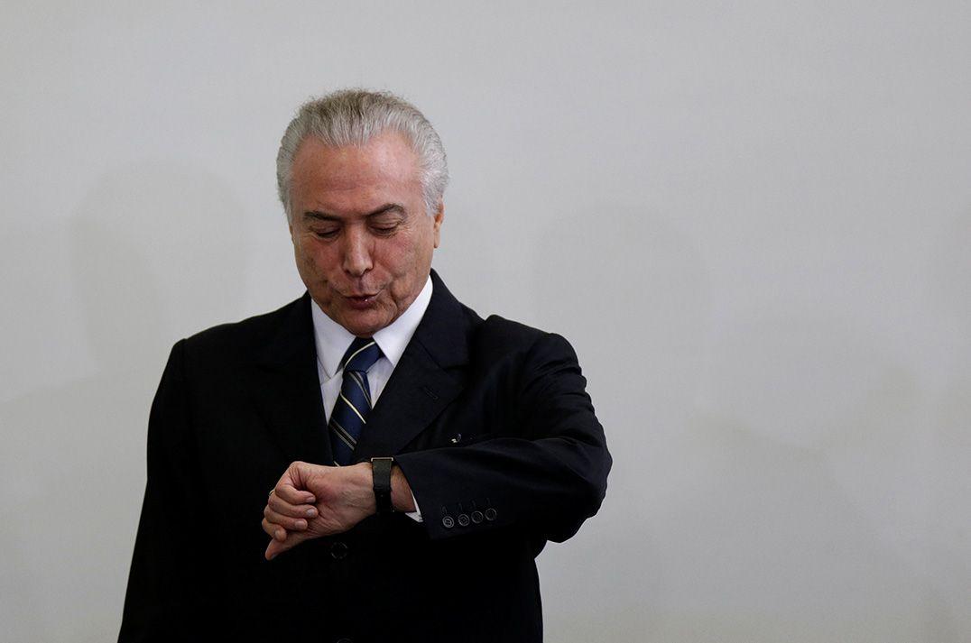 Temer nega ter agido para comprar silêncio de Cunha