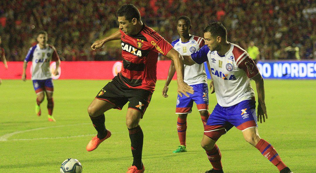 Sport e Bahia ficaram no empate no primeiro jogo (Foto  Bobby Fabisak JC  Imagem Estadão Conteúdo) 3c16ae8425f3e
