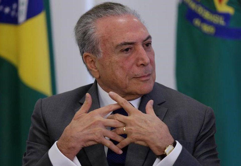 Segundo parlamentar, Temer estava tranquilo / Ueslei Marcelino/Reuters